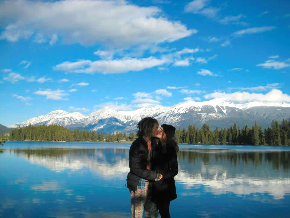 honeymoon destination jasper Canada