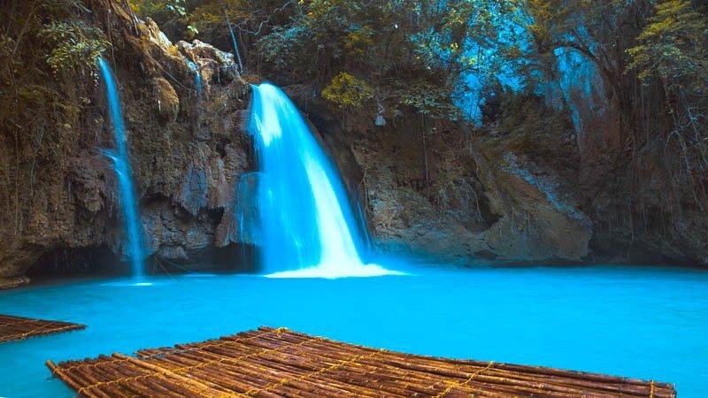 Kawassan falls