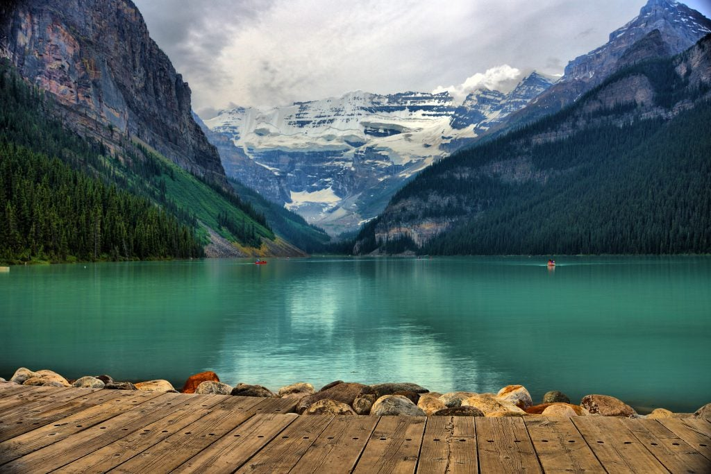 Lake Louise honeymoon