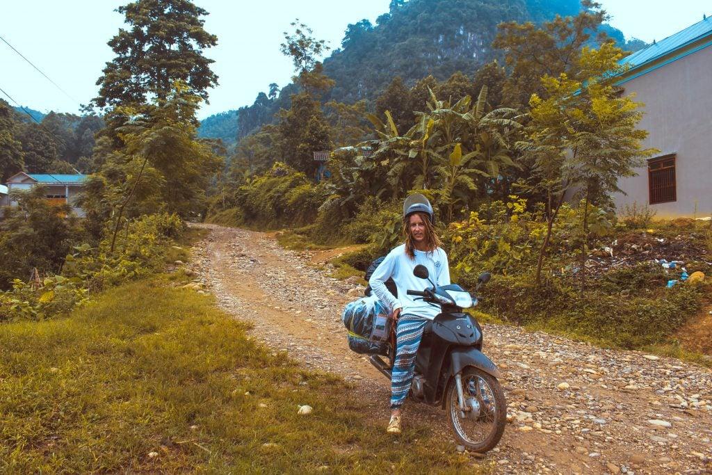 Northern Vietnam motorbike trip