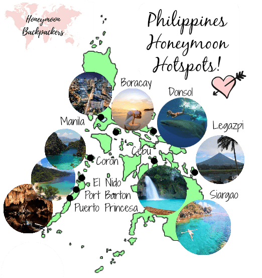 philippines honeymoon hotspots