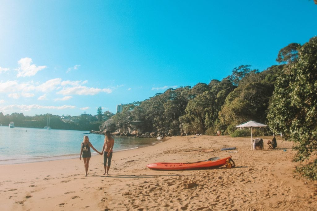 kayaking manly