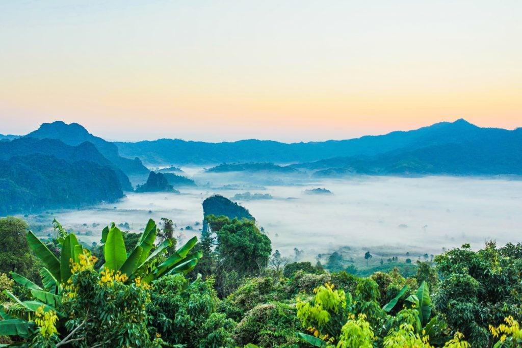 thailand honeymoon nature