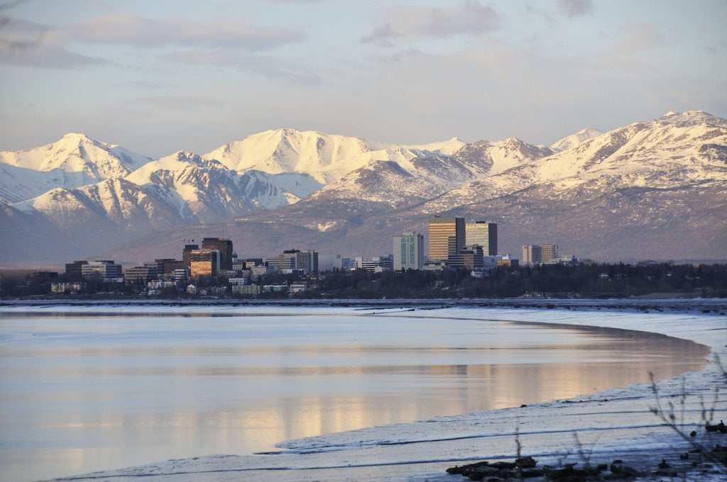 anchorage alaska honeymoon