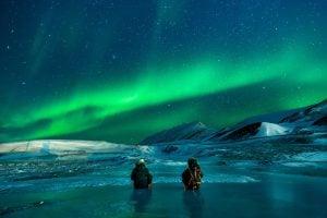 alaska honeymoon Aurora Borealis
