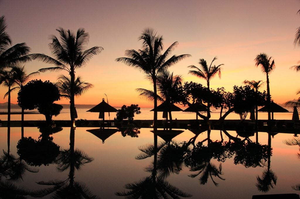 best beaches in bali for sunset