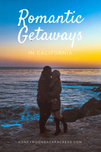 spa vacations california; Romantic Getaways California; Honeymoon; Backpackers; California;