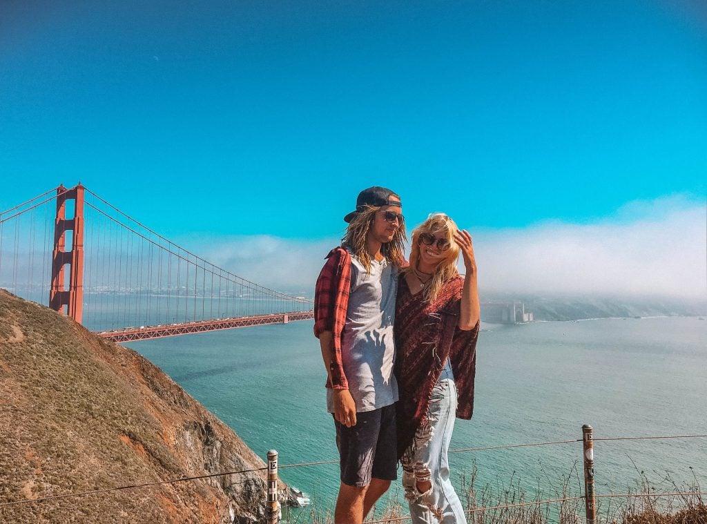 California honeymoon