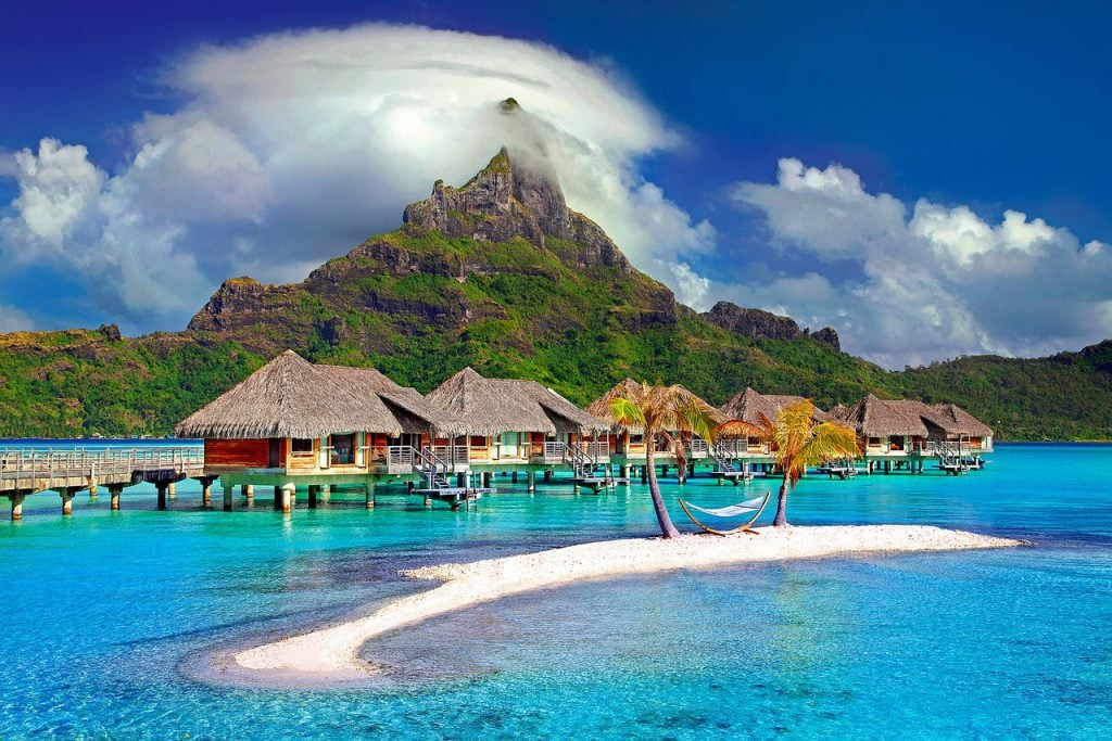 best honeymoon destination in november bora bora