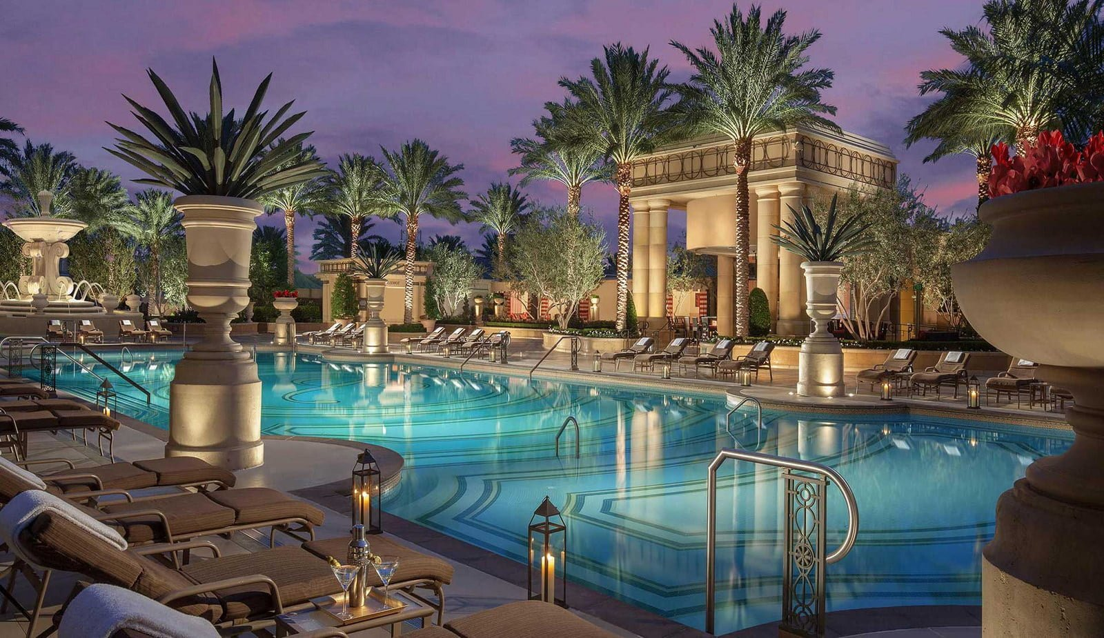 best pools in vegas for adults