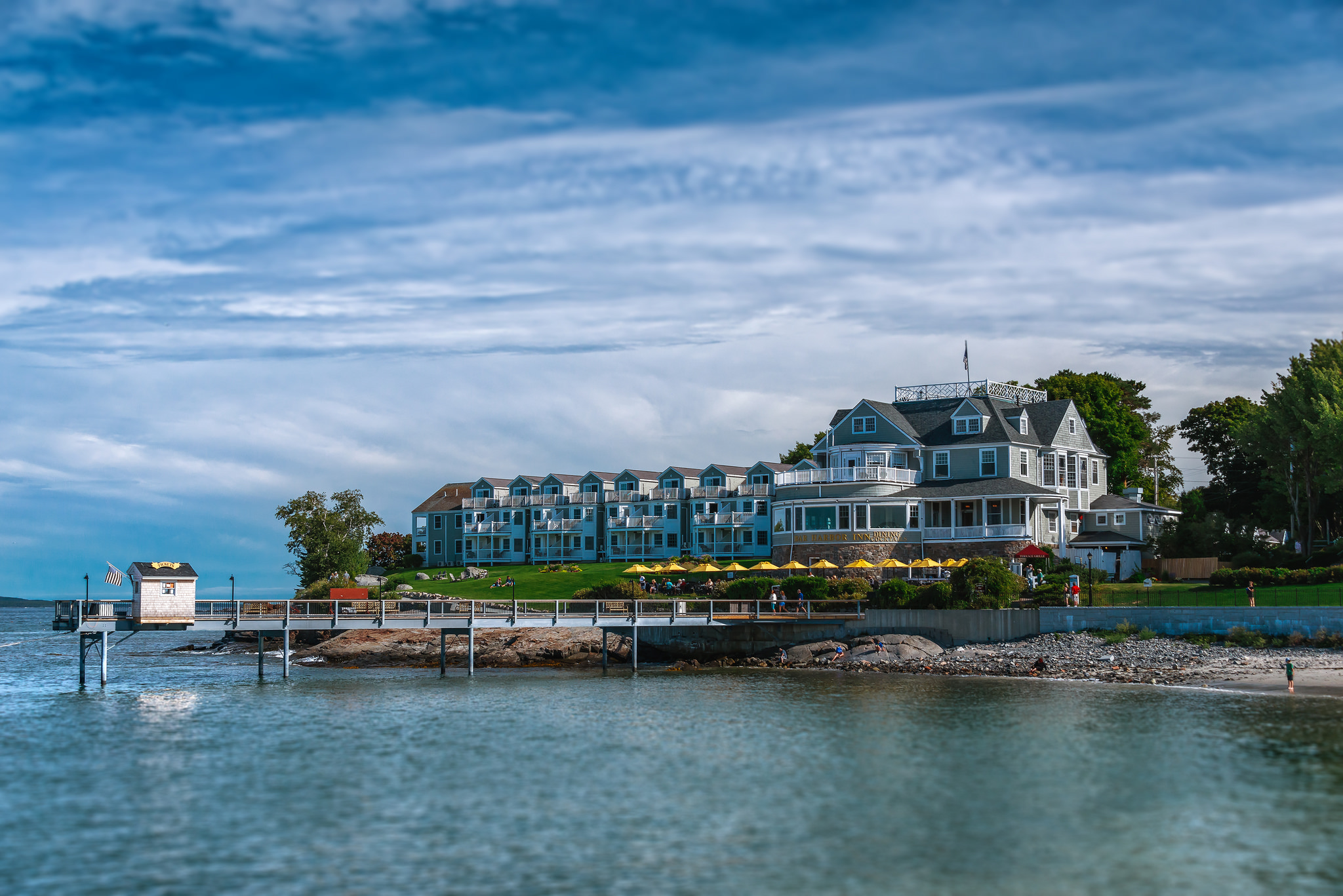 maine vacation spots