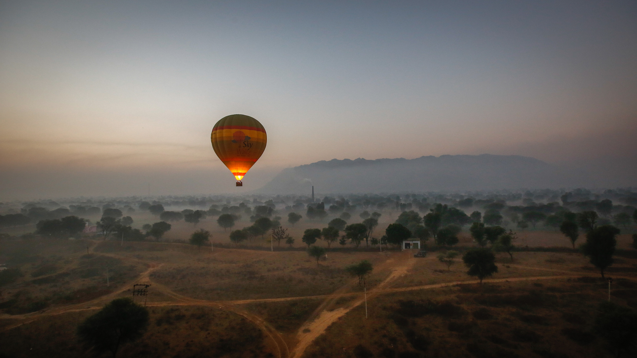 Hot Air Balloon Jaipur India